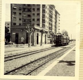 Estació de Benimaclet anys 80