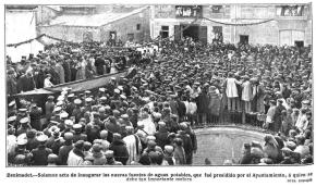 Plaça Benimacet 1922