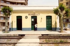 ACTUAL PREVIEW- Estación del trenet de Benimaclet. Principios de los 80